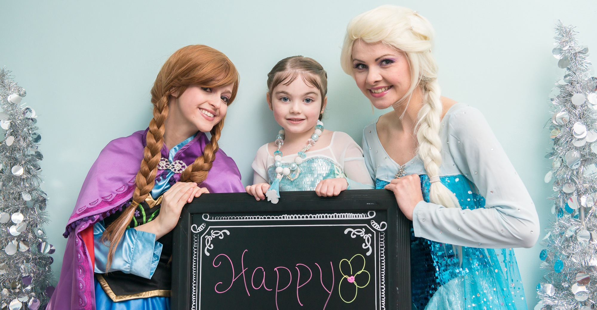 My Fairytale Party - Elsa and Anna