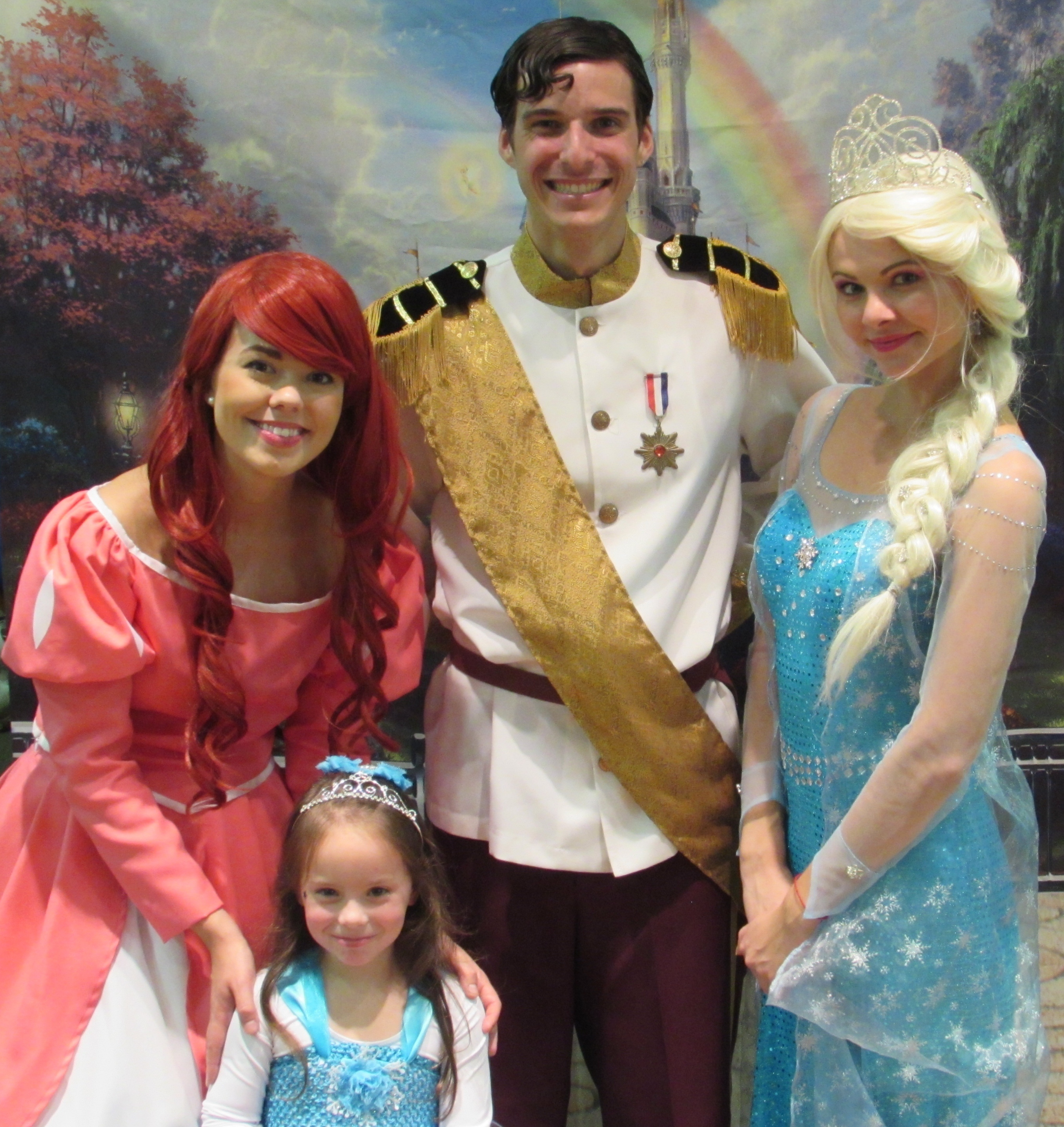 Cate and princesses 10-5-14